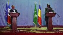 Conférence de presse conjointe avec M. Idriss DEBY ITNO, président de la République du Tchad