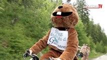 Une marmotte à vélo est passée à l'attaque sur le Tour de France
