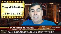 MLB Pick LA Angels vs. Seattle Mariners Odds Prediction Preview 7-19-2014