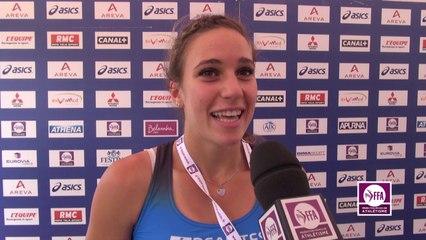 Laura Valette : « Mission accomplie avec le coach »