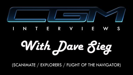 CGM Interviews - 01 - Dave Sieg