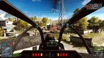 Battlefield 4 Funny Moments - Jet Glitch, Helicopter Pros, Tank Thief, Train Victims