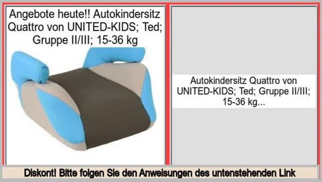 Gruppe II//III Autokindersitz Kids Club Creme-Schwarz 15-36 kg /% SALE /%