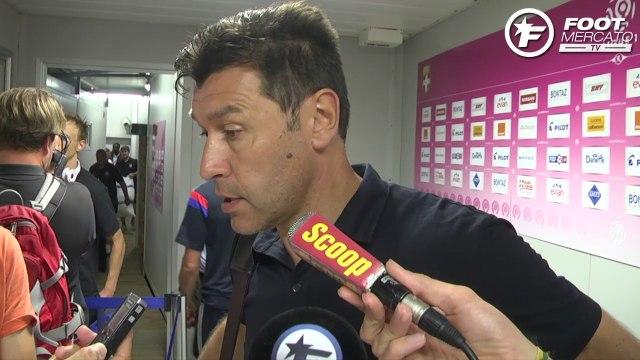 OL : Réactions d'après-match de Jean-Michel Aulas et d'Hubert Fournier