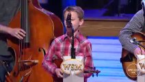 Carson Peters and Ricky Skaggs - Blue Moon of Kentucky Live at the Grand Ole Opry