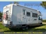 Camper mansardato usato Laika Kreos 3002
