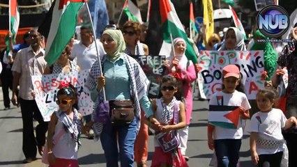 Comunità palestinese napoletana contro la guerra