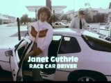 VINTAGE 70s TEXACO COMMERCIAL WITH JANET GUTHRIE LATE 70's RACE CAR DRIVER