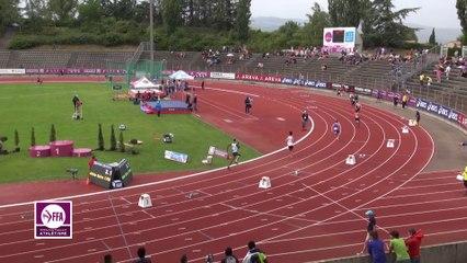 Finale 400 m haies Cadets (record de France de Victor Coroller)