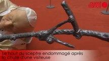 La Nona Ora endommagée au musée des beaux arts de Rennes