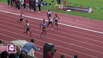 Finale 200 m Cadettes