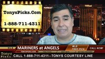 MLB Odds LA Angels vs. Seattle Mariners Pick Prediction Preview 7-20-2014