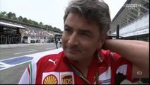 F1 2014 - 10 German GP - Post-Race  Marco Mattiacci