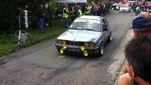 BMW E 30 325 I Montée Historique Salins les Bains -  vidéo   lulu du jura