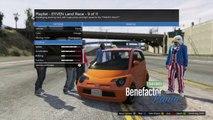 GTA 5 Funny Moments 'INSANE JUMPS AROUND MAZE BANK' E244 (GTA V Online)
