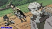 Lee-Sakura-Sasuke vs Ninja Del Suono
