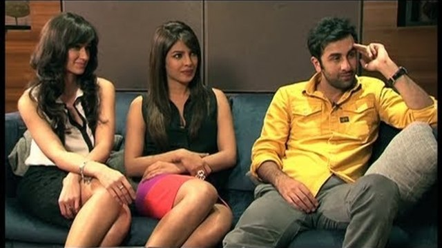 Chalu 'Barfi!' Ranbir & Giggly-Gossipy Priyanka-Ileana's Fun Interview