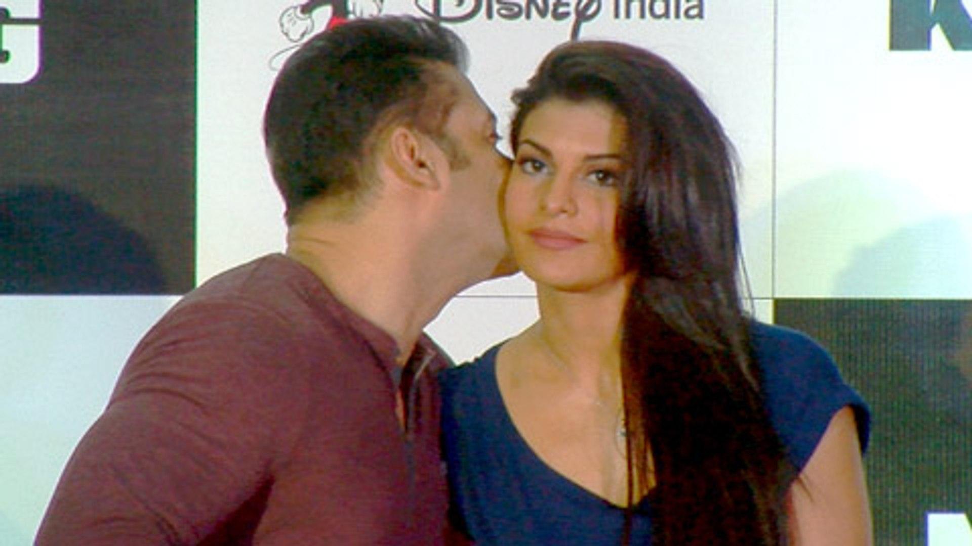 Salman Khan KISSES Jacqueline Fernandez - KICK Game Launch