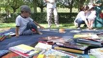 Lire dans les parcs et jardins grâce aux bibliothèques