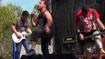 LESSEN live au Garrigue Fest 2014