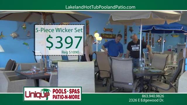 Discounts on Jacuzzi Spa, Above Ground Swimming Pools – Lakeland Unique Pools Spas Patio N More, Lakeland FL