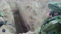 Tsahal détruit les tunnels entre Gaza et Israël