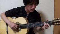 [Solo Guitar Tab] ひまわりの約束(秦基博) Cover 田中佳憲 YOSHINORI TANAKA 映画「STAND BY ME ドラえもん」主題歌 テーマソング Tablature sheet music chord tutorial guitar arrange acoustic