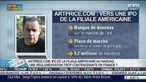 Artprice.com: vers une introduction en bourse de la filiale américaine: Thierry Ehrmann, dans Intégrale Bourse - 21/07