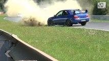 Il frôle la mort lors d'une course automobile amateur
