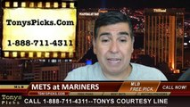 Seattle Mariners vs. New York Mets Pick Prediction MLB Odds Preview 7-21-2014