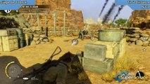 Sniper Elite III - Emplacement du Tir à Distance de la mission Siège de Tobruk