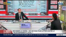 Isabelle Giordano, directrice UniFrance Films, dans Le Grand Journal – 21/07 1/4