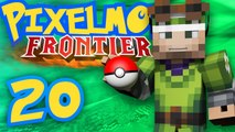 Pixelmon Survival Frontier [Part 20] - The Flying Gym Leader! feat. Poet!