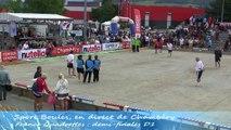 Demi-finales championnat de France Quadrettes et Triples, Sport Boules, Chambéry 2014