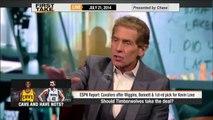 Timberwolves Shouldn't Even Consider Wiggins-Love Deal - ESPN First Take