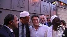 Juifs, musulmans et chrétiens rassemblés pour la paix à la synagogue de Sarcelles
