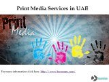 Public Relations Services in UAE, PR Agency in Middle East