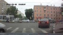 Une camionette provoque plusieurs accidents (Russie)