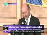 """Președintele Traian Băsescu: """"R. Moldova are nevoie de ajutor în faţa Rusiei. România și Polonia trebuie să găsească soluții de depozitare pentru producția de fructe din R. Moldova"""""""