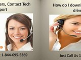 1-844-695-5369 Support to Install and Download Printer Software and Drivers