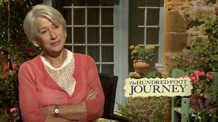 Helen Mirren interview - 'The Hundred-Foot Journey'