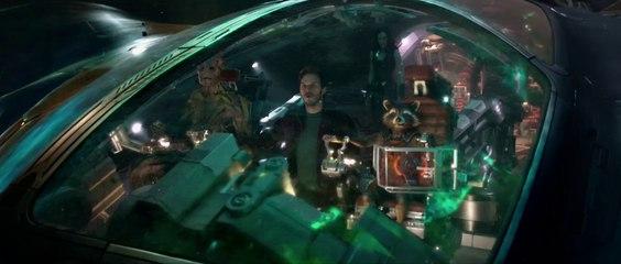 Chris Pratt as Peter Quill in Guardians of the Galaxy -Sneak peek
