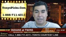 Minnesota Twins vs. Cleveland Indians Pick Prediction MLB Odds Preview 7-23-2014
