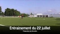 Entrainement Girondins de Bordeaux 22 juillet