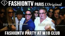 Dinner at Roosevelt & fashiontv Party at M18 Club Shanghai ft Michel Adam, Jean Claude Van Damme