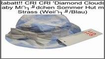 Schn�ppchen CRI CRI 'Diamond Clouds' Baby M�dchen Sommer Hut mit Strass (Wei�/Blau)