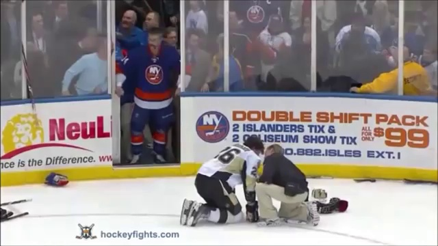 3 NHL Goalie Fights in 1 week  !