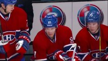 Carey Price takes one in the pills - Boston Bruins vs Montreal Canadiens NHL Hockey
