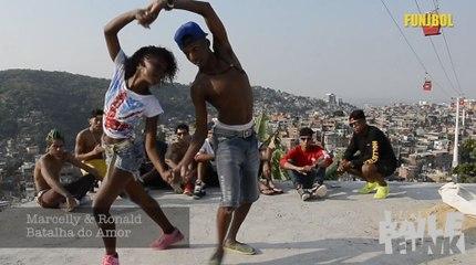 Funjbol 18/ Na Batalha, quand le passinho devient danse urbaine contemporaine carioca.