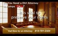 Tampa DUI Attorney FL - Hillsborough County DUI Lawyer